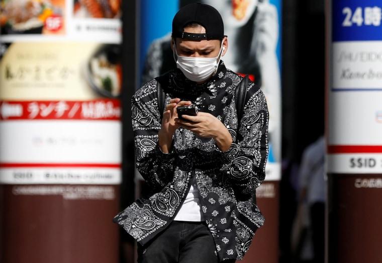 Image: Outbreak of the coronavirus disease (COVID-19) in Tokyo