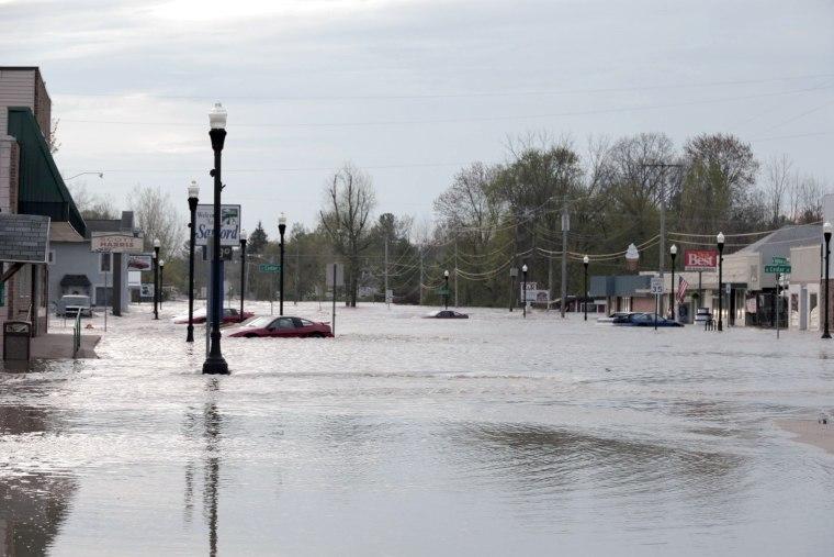 Image: Michigan flooding