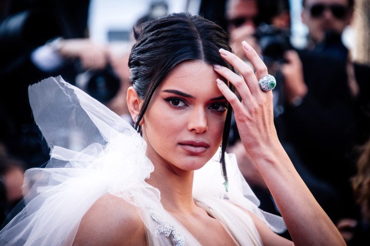 Image: Kendall Jenner attends a screening at the Cannes Film Festival in France on May 12, 2018.