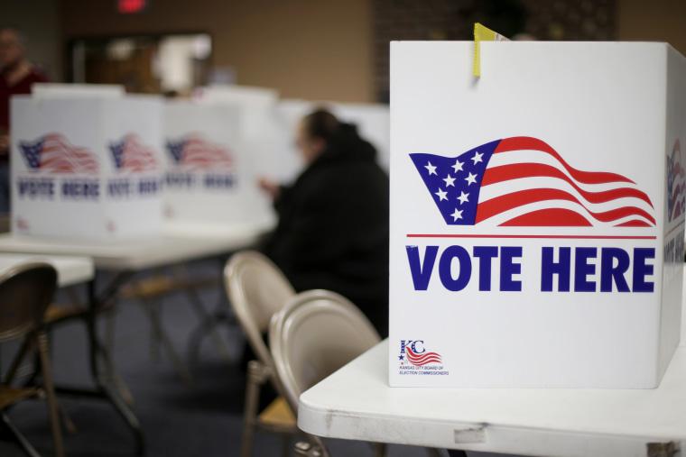 Image: Missouri voting