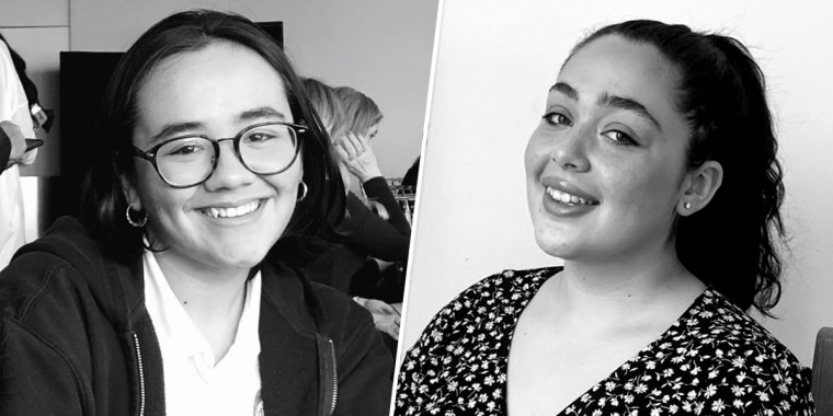 """Nicole Soret and Mya Abdelwahab launched """"Femstrate,"""" which works with the city Department of Education to hand out free period products at meal hub sites in New York."""