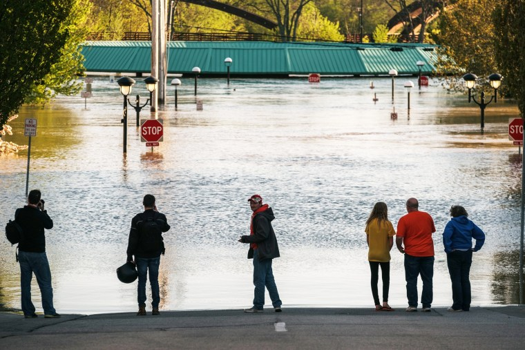 Image: Michigan Governor Declares State Of Emergency As Dams Break