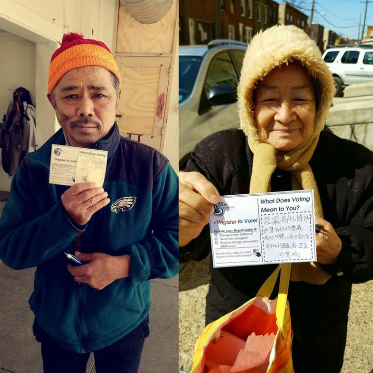 Image: elders voting