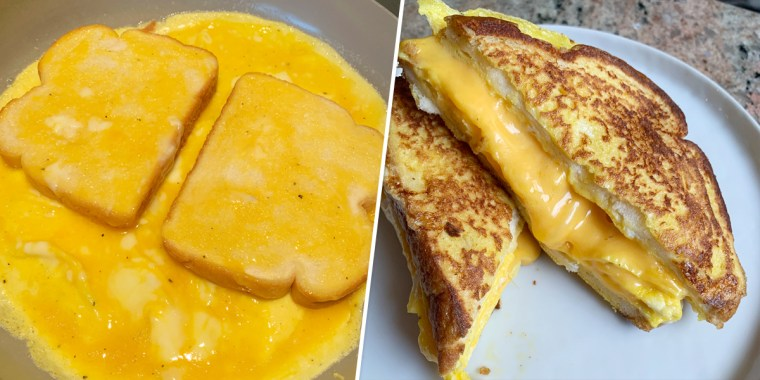 """This internet-famous dish has a few names, from """"egg on toast"""" to """"bread omelet,"""" and is a common street food in India."""