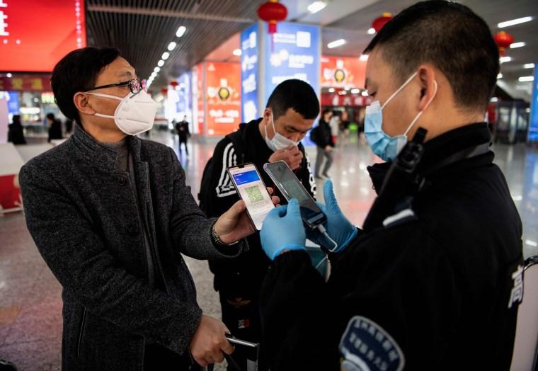 Image: China health app