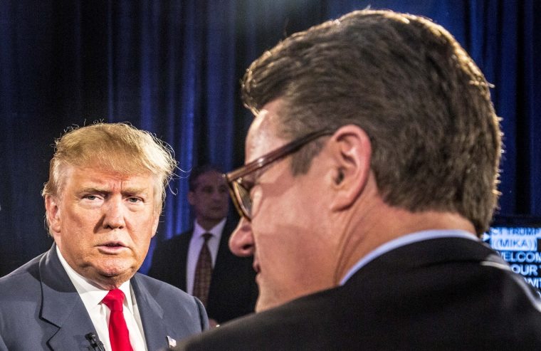 "\""Morning Joe\"" town hall with Donald Trump in Charleston, SC, February 17, 2016"