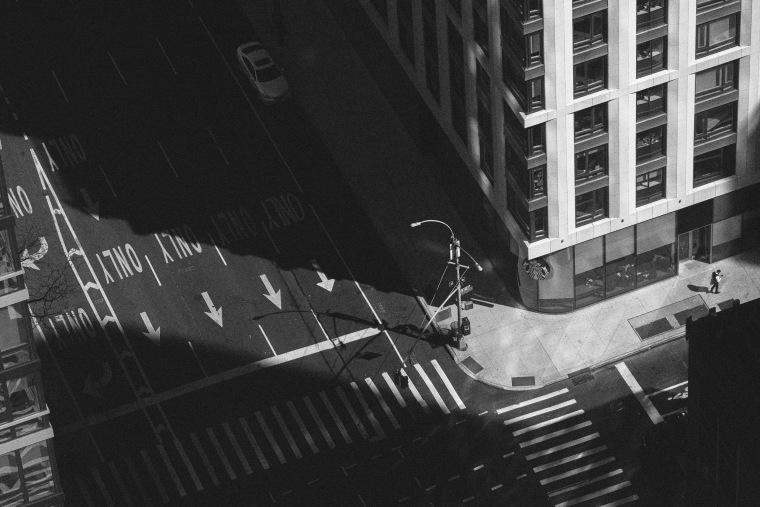 Image: An empty street in Manhattan, N.Y., on March 15, 2020.