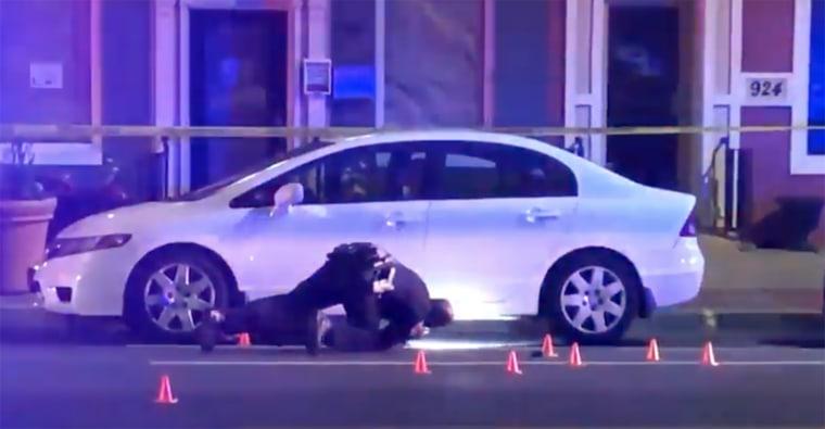 Image: Baltimore police shooting