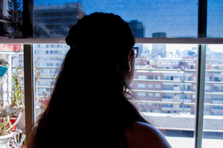 """This woman is a part of a clandestine network of \""""abortion doulas\"""" in Chile."""