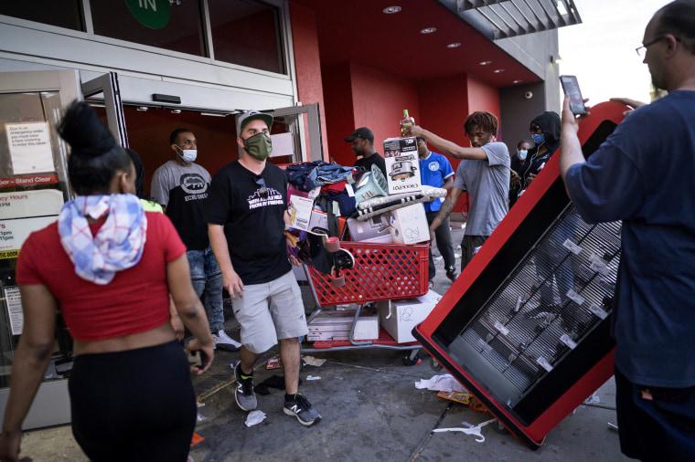 Image: Target looters