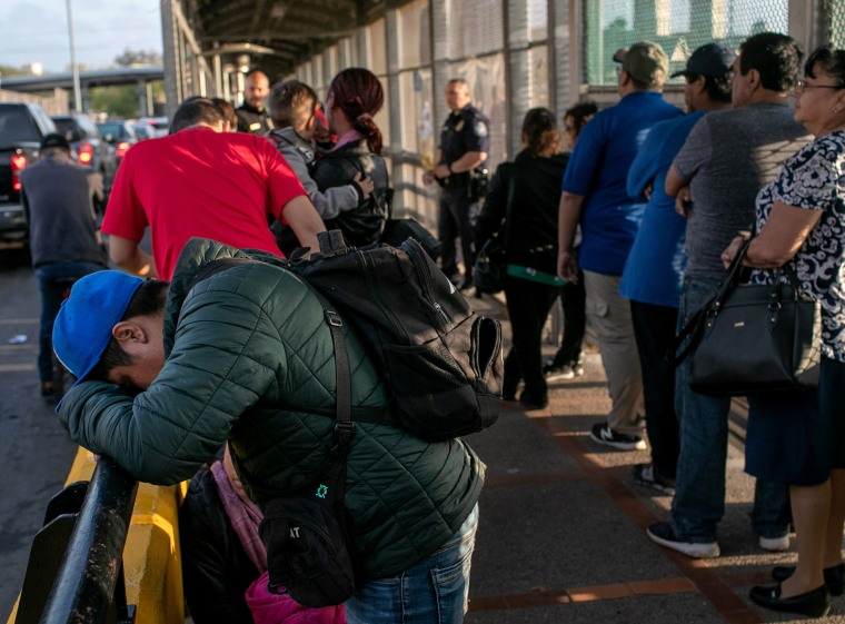 """Asylum Seekers Fill Tent Camps As Part Of U.S. \""""Remain In Mexico\"""" Policy"""