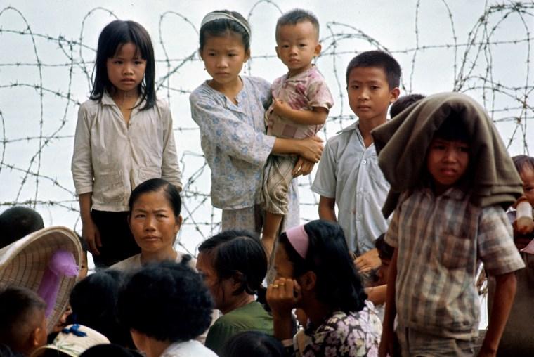 Vietnamese Children in Refugee Camp