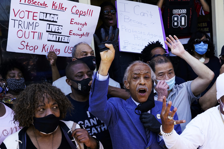 George Floyd couldn't breathe. We protest because now all of Black ...