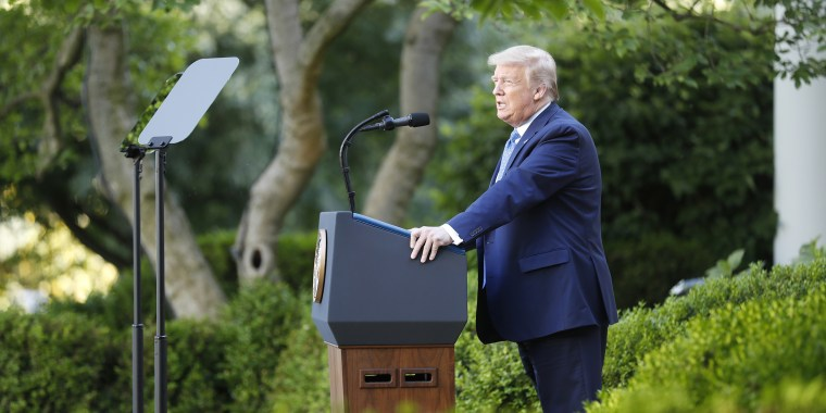 """""""I think we're going to be very good with the coronavirus. I think that at some point that's going to sort of just disappear, I hope,"""" Trump said in an interview with Fox Business Network."""