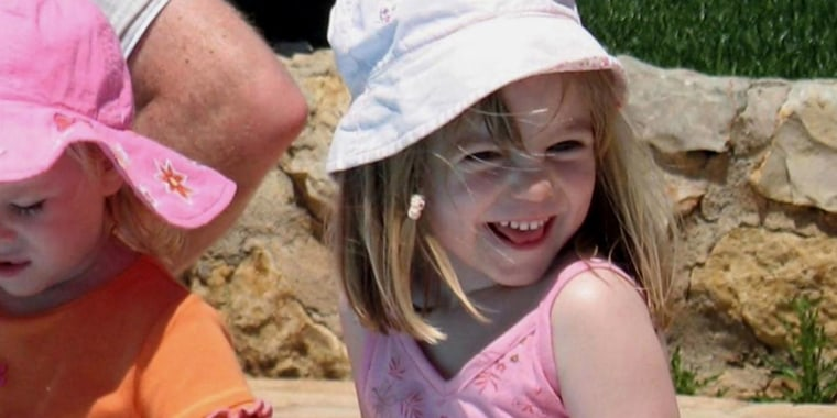Madeline McCann vanished from her bedroom on May 3 during a family vacation in the Algarve while her parents were dining with friends nearby in the resort of Praia da Luz.