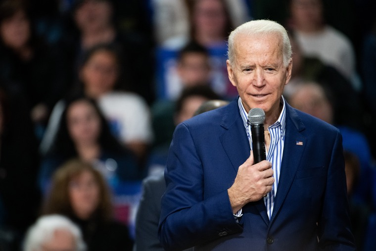 Image: Presidential Candidate Joe Biden Campaigns Ahead Of Primary In South Carolina