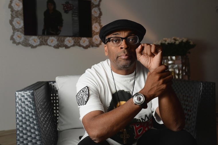 Image: Director Spike Lee poses during a portrait session at the 69th Venice Film Festival.