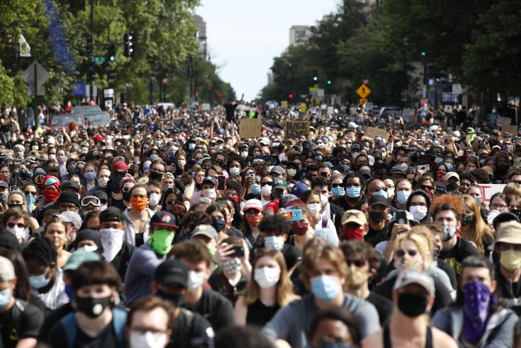 Image: Washington protest