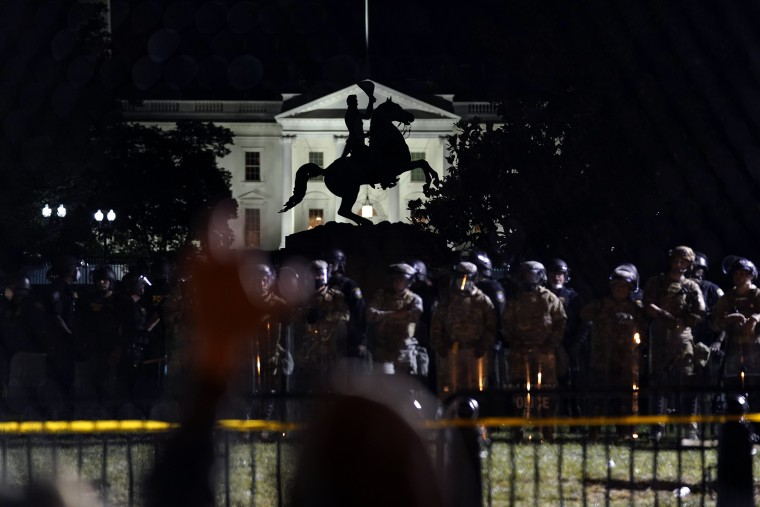 Image: White House protest