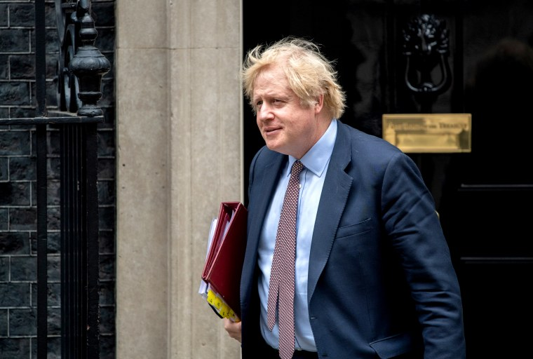Image: Boris Johnson Leaves For First PMQs Since Chief Advisor Lockdown Breach Press Coverage
