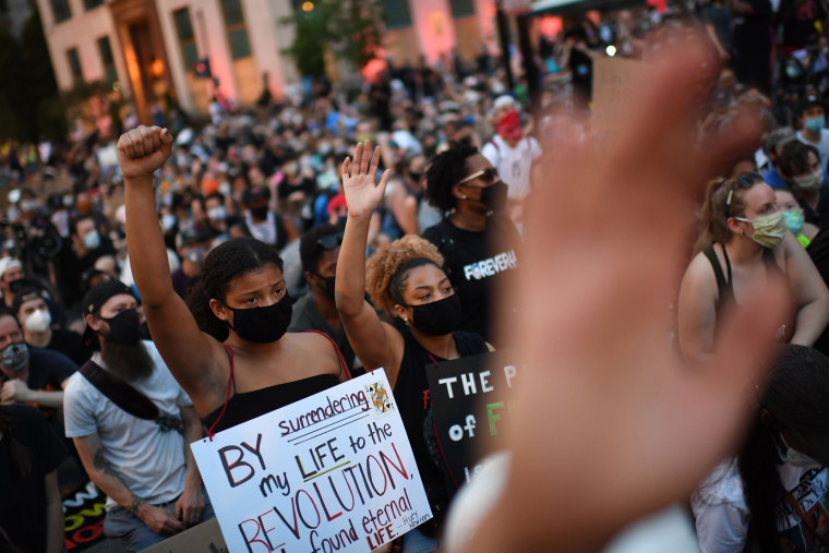 Image: US-POLITICS-RACE-UNREST