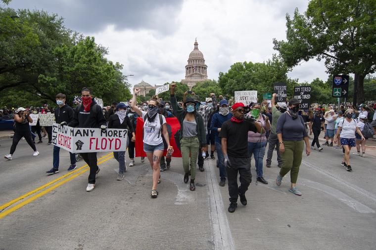 Image: Texas, Austin Floyd protest