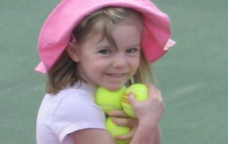 Image: Missing British girl Madeleine McCann before she went missing from a Portuguese holiday complex on Thursday, May 3, 2007.