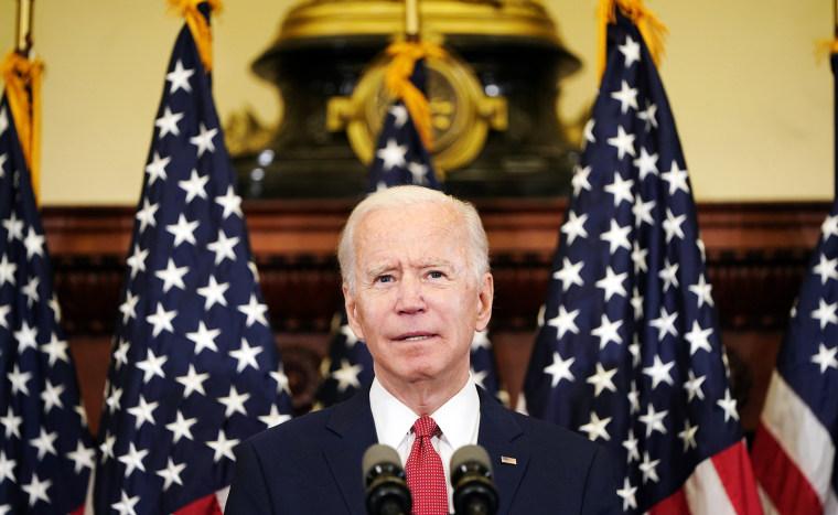 Image: Democratic U.S. presidential candidate Joe Biden speaks at event in Philadelphia