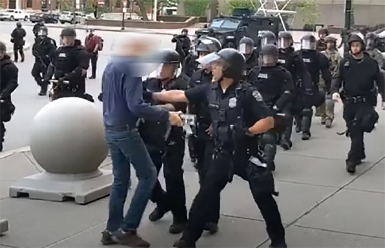 Image: Buffalo police shove 75-year-old man