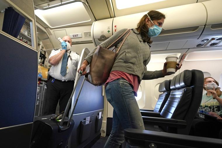Image: Airline passenger