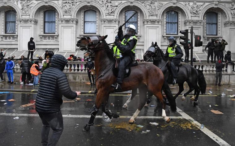 Image: London black lives matter protest