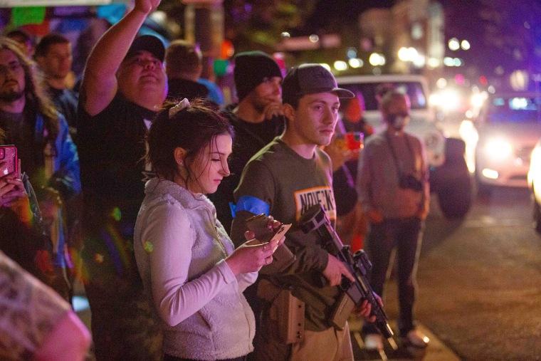 Image: Black Live Matter Protest Klamath Falls Oregon May 31st 2020