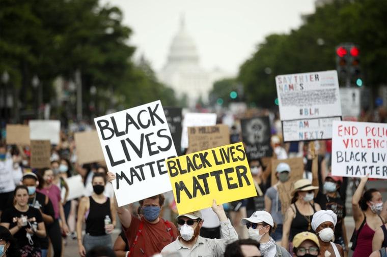 Image: Black Lives Matter demonstration