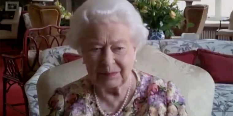 Britain's Queen Elizabeth II marked #CarersWeek2020 with her very first public video call.