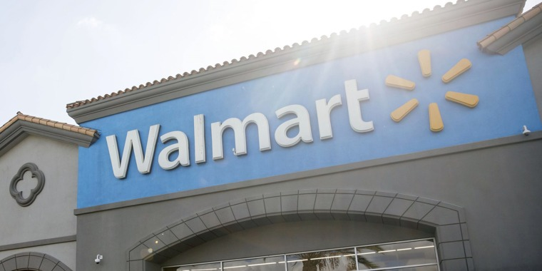 """""""Like other retailers, the cases were put in place to deter shoplifters from some products such as electronics, automotive, cosmetics and other personal care products,"""" a spokesperson for Walmart said."""