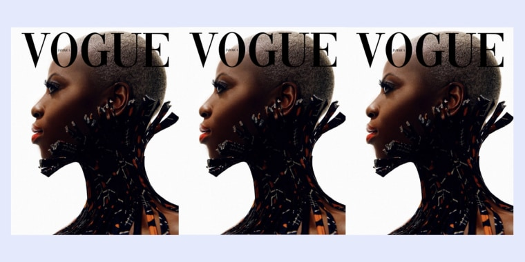 In the #VogueChallenge, Black photographers and designers have been creating mock-up magazine covers.