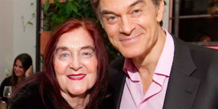 Dr. Mehmet Oz shared a video update about his mother's Alzheimer's.
