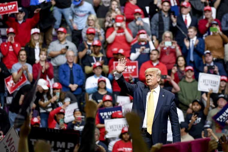 Image: Donald Trump Holds A Campaign Rally In Colorado Springs
