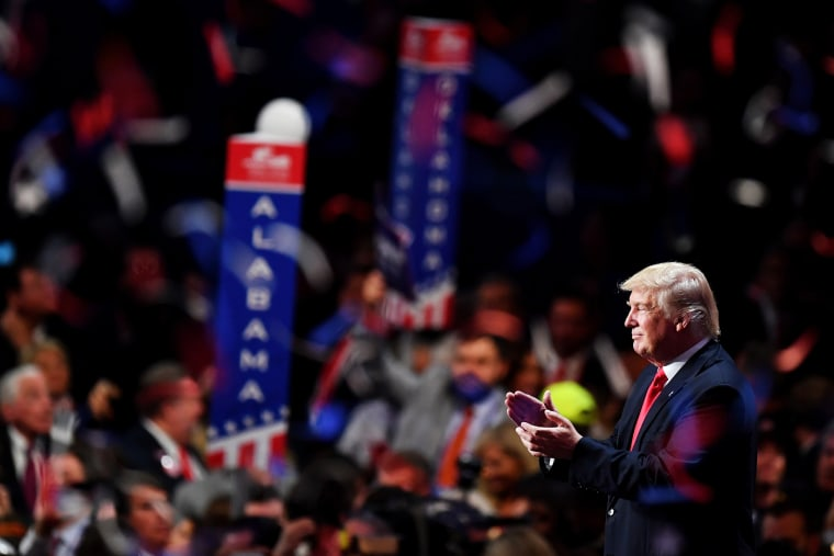 Image: DOnald Trump, Republican National Convention: Day Four