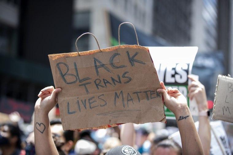 Image: Black Trans Lives Matter