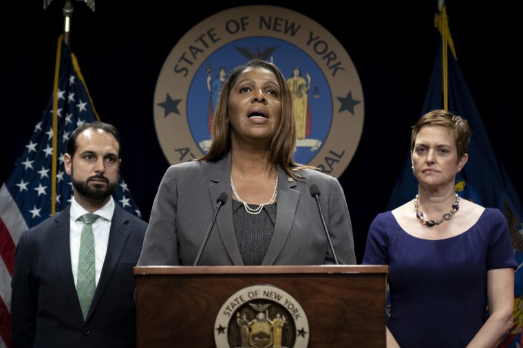 Image: New York State Attorney General Letitia James Discusses Proposed T-Mobile And Sprint Merger