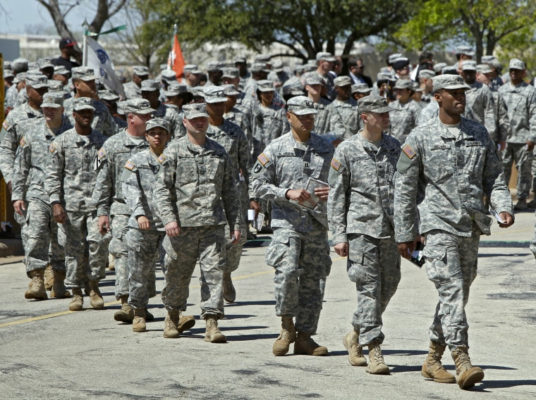 Image: US Soldiers, Fort Hood
