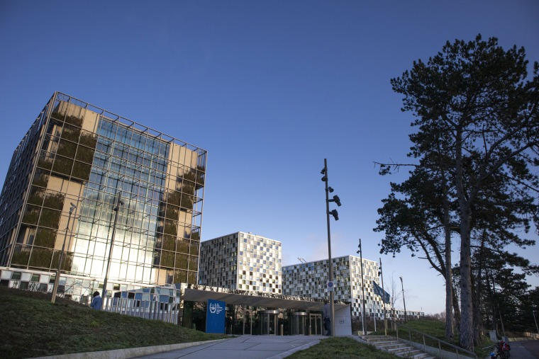 The International Criminal Court in The Hague, Netherlands.