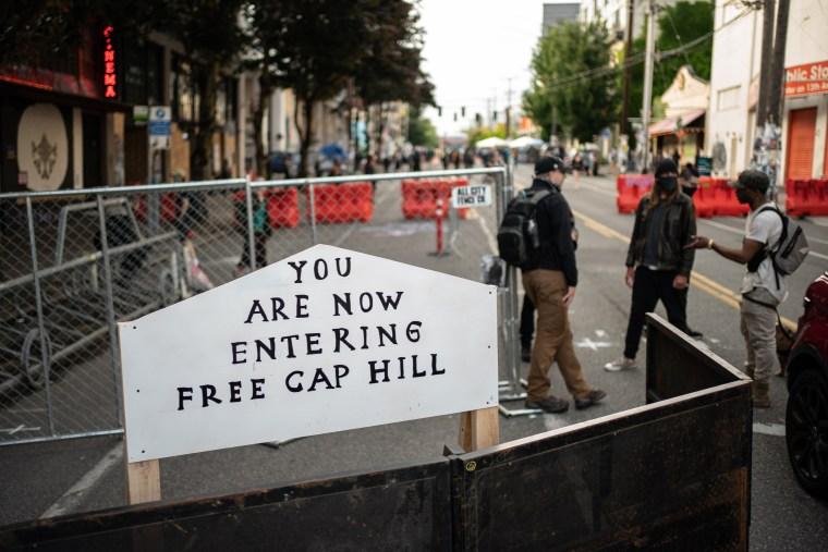 Image: Capitol Hill Autonomous Zone