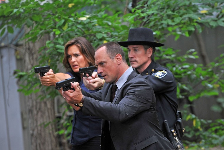 """On Location For \""""Law & Order: SVU\"""" - July 15, 2010"""