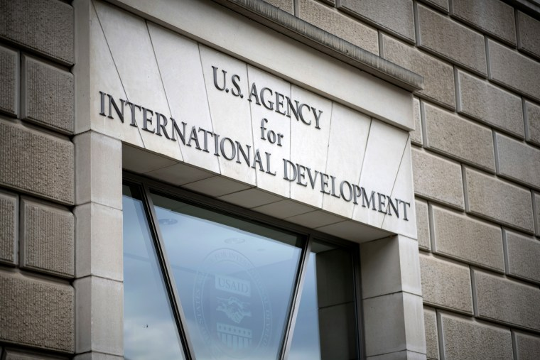 A general view of the Agency for International Development (USAID) headquarters in Washington, D.C., on Sept. 9, 2019.