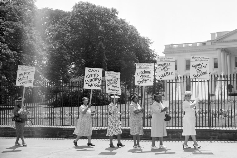 African American Women Picket at White House