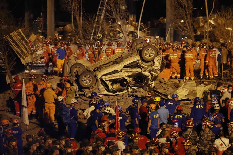 Image: CHINA-ACCIDENT
