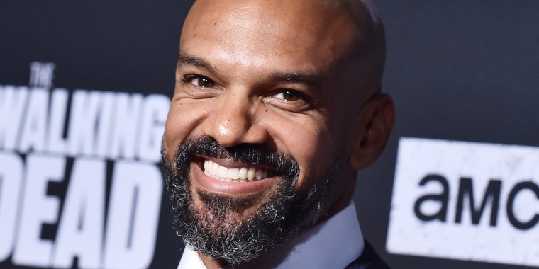 "Actor Khary Payton attends the Season 10 premiere of ""The Walking Dead"" on Sept. 23, 2019."
