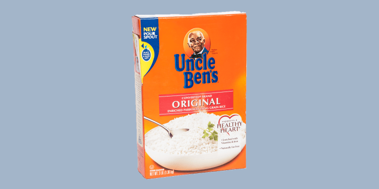 Uncle Ben's has been the face of the rice brand since the 1940s.